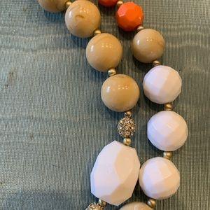 Fashion Jewelry Jewelry - Fashion Jewelry! Peach, cream, white & rhinestones